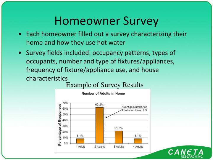 Homeowner Survey