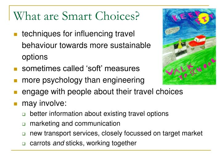 What are Smart Choices?