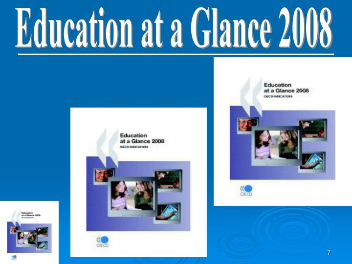 Education at a Glance 2008