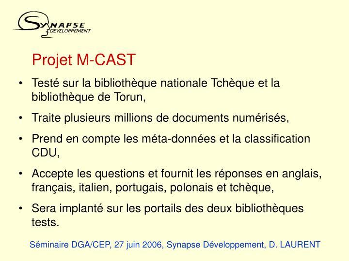 Projet M-CAST