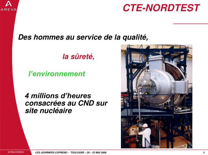 CTE-NORDTEST