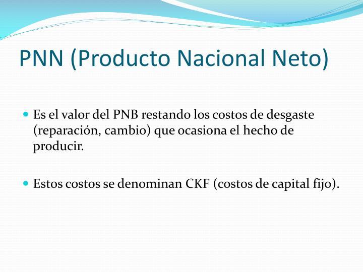 PNN (Producto Nacional Neto)