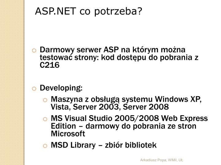 ASP.NET co