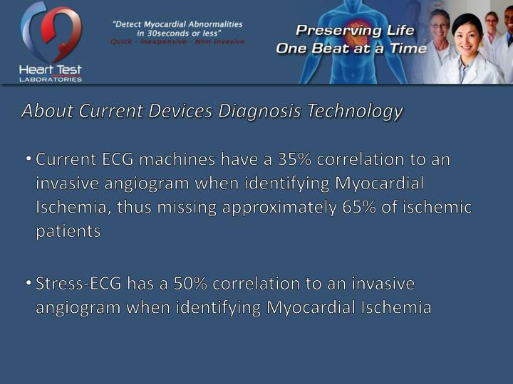 About Current Devices Diagnosis Technology