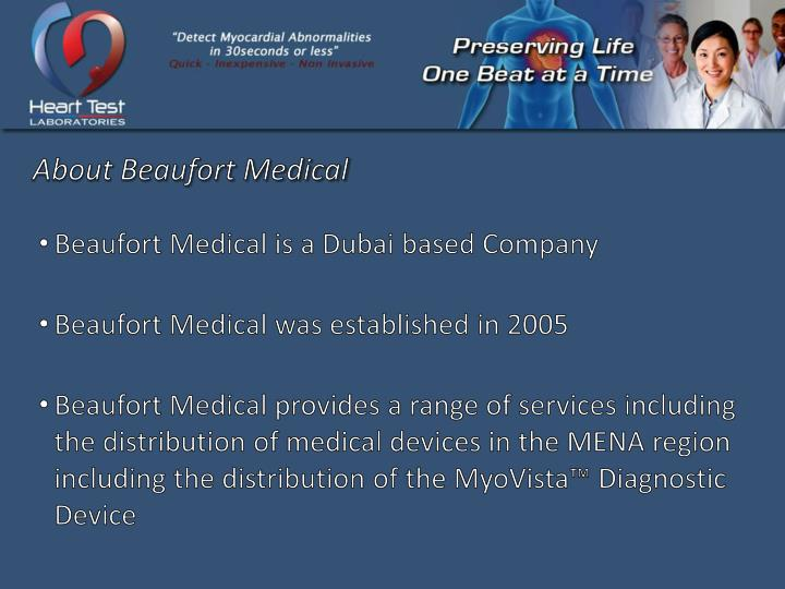 About Beaufort Medical