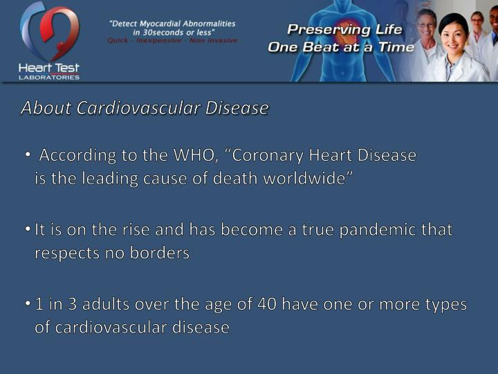 About Cardiovascular Disease