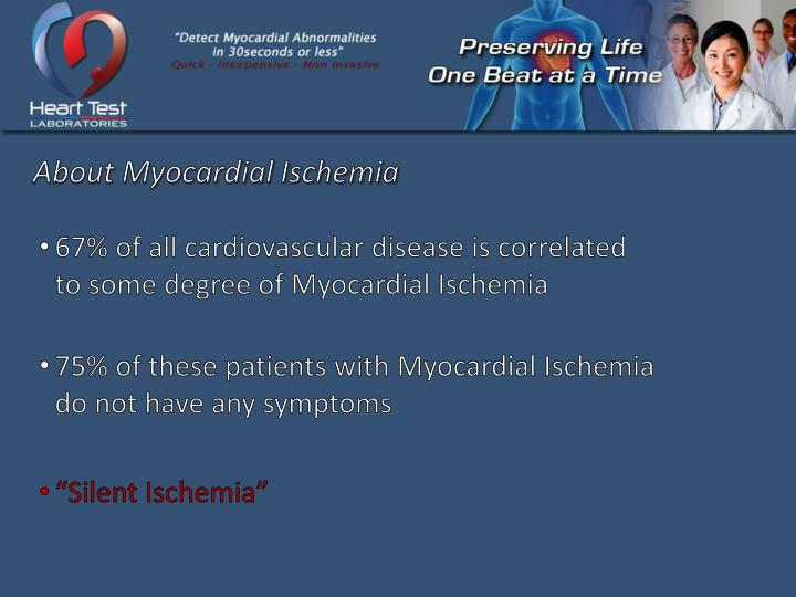 About Myocardial Ischemia