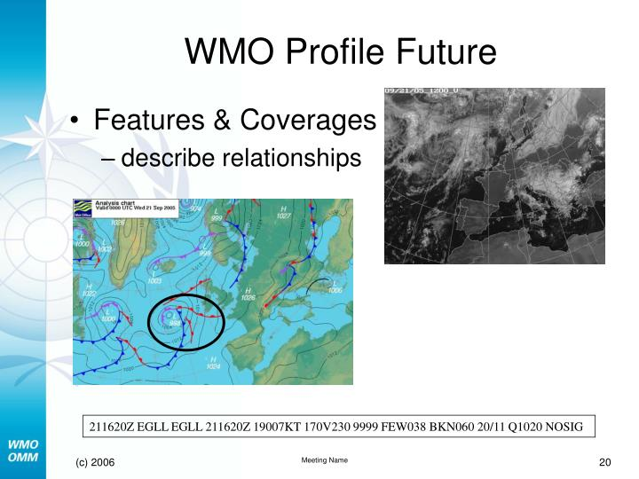 WMO Profile Future