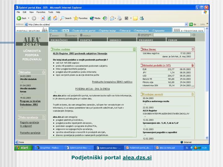 Podjetniški portal