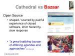 cathedral vs bazaar2
