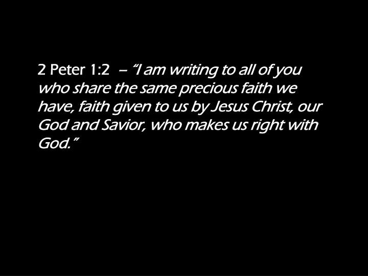 2 Peter 1:2