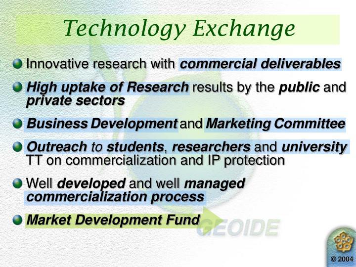 Technology Exchange