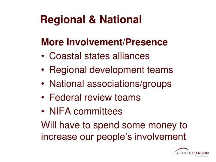 Regional & National