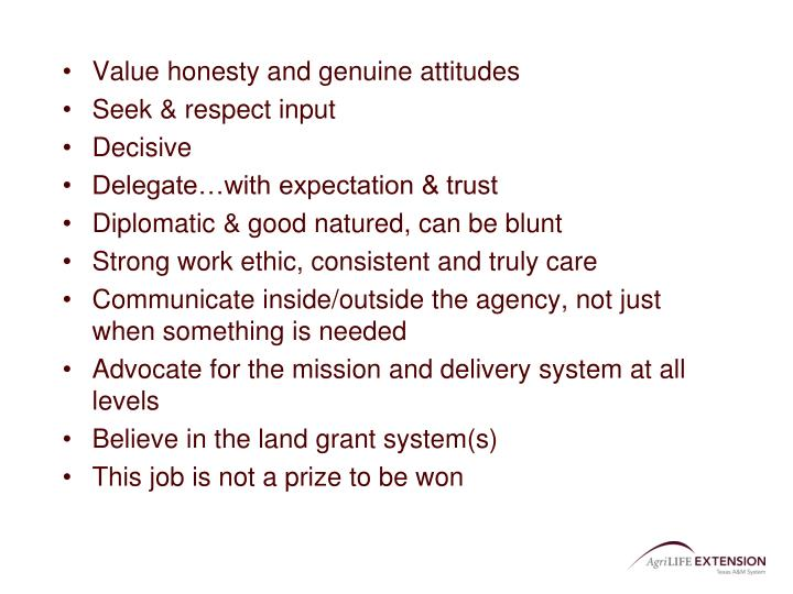 Value honesty and genuine attitudes