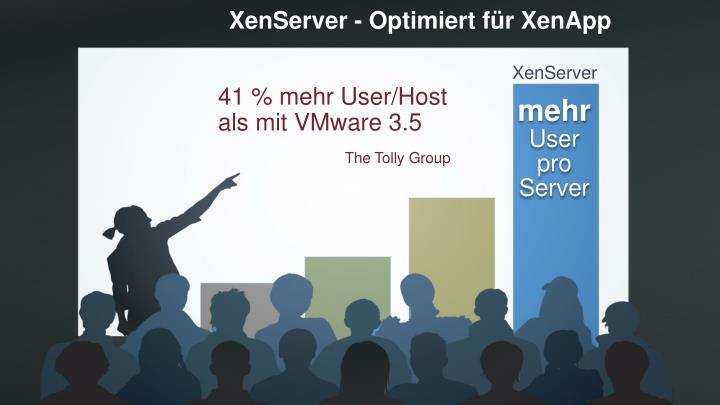 XenServer - Optimiert für XenApp