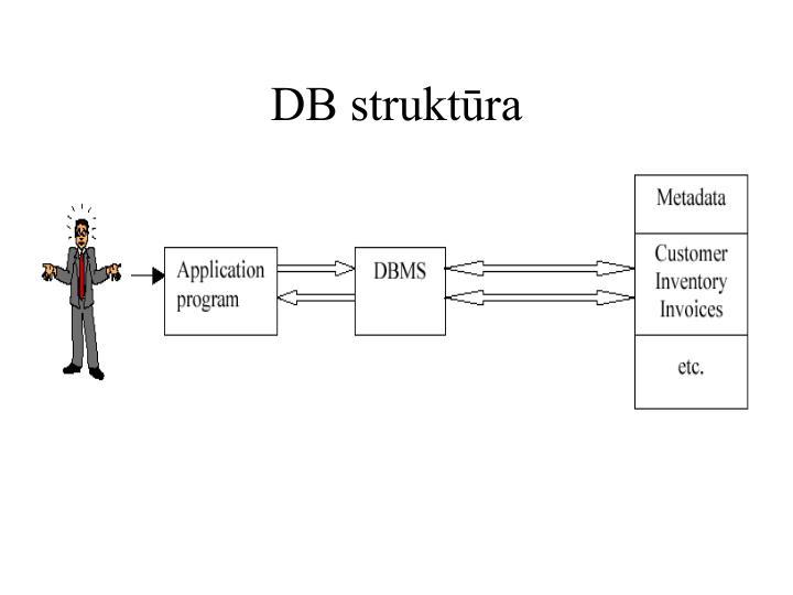DB struktūra