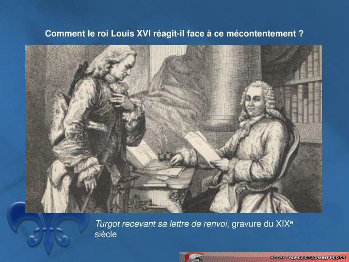 Comment le roi Louis XVI ragit-il face  ce mcontentement ?