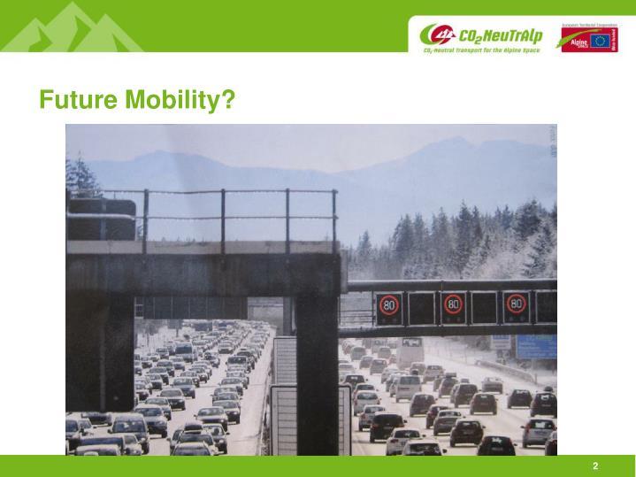 Future Mobility?