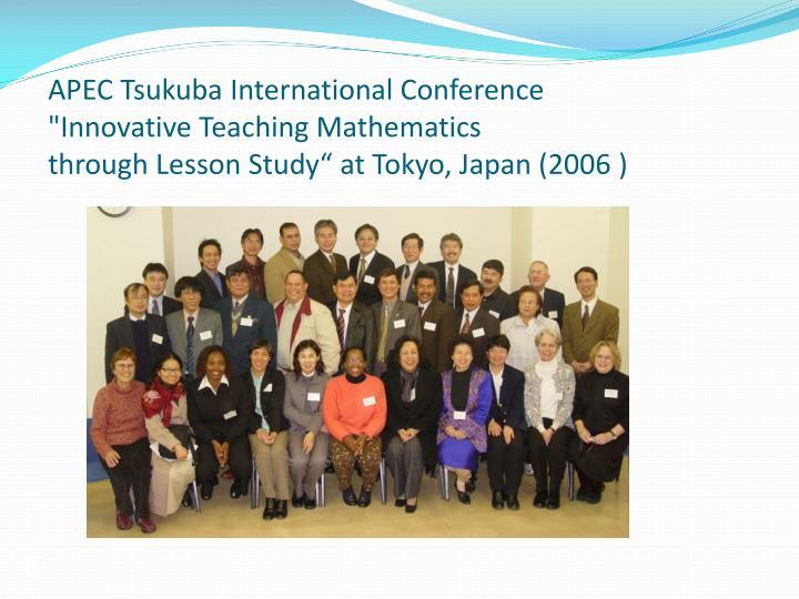 APEC Tsukuba International Conference