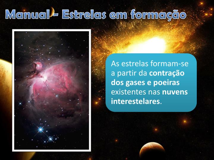 Manual - Estrelas