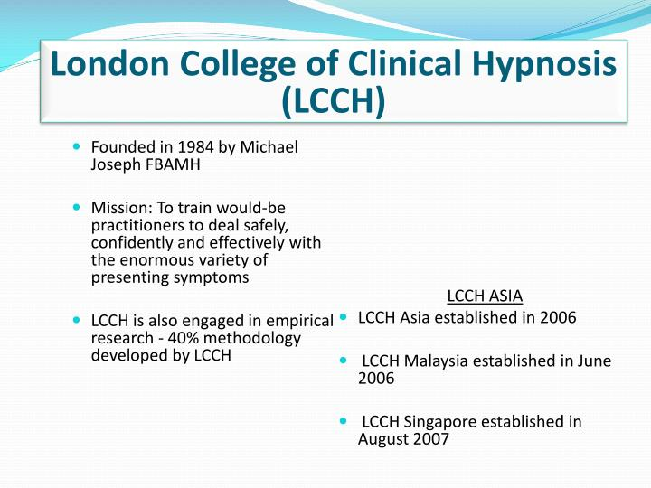 London College of Clinical Hypnosis (LCCH)