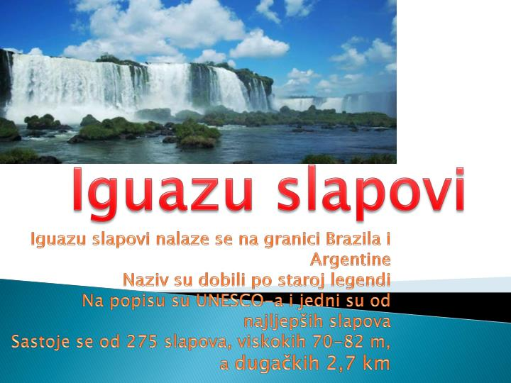 Iguazu slapovi