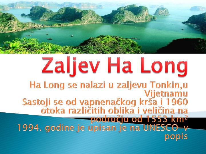 Zaljev Ha Long
