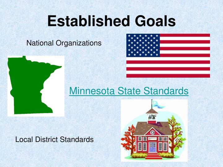 Established Goals