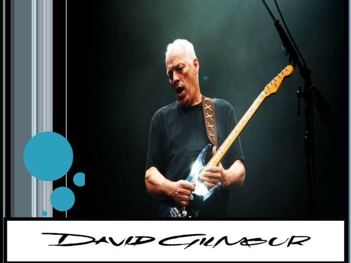 Who is david gilmour