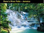 dunn s river falls jamaica