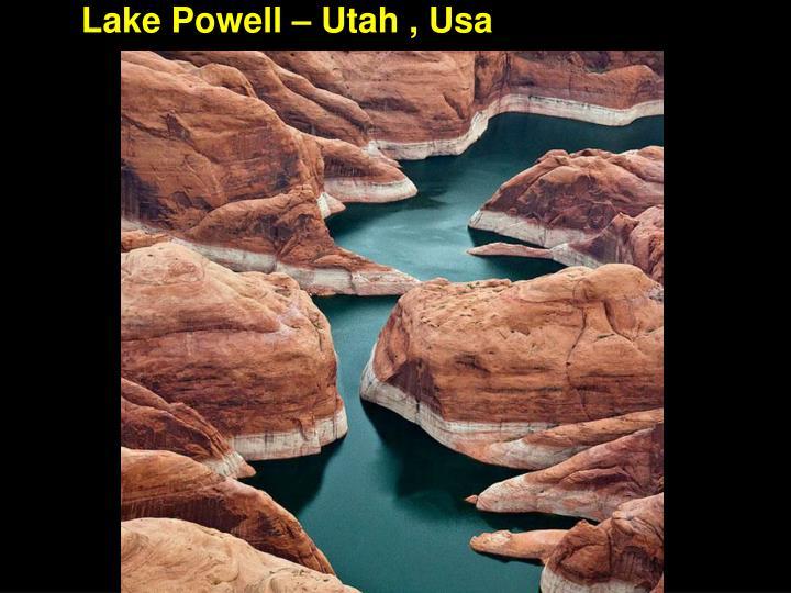 Lake Powell – Utah , Usa