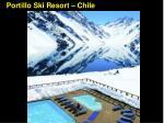 portillo ski resort chile