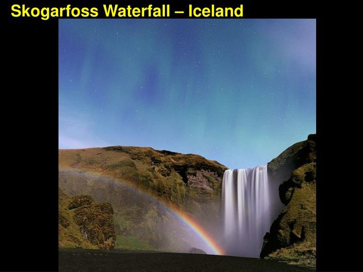Skogarfoss Waterfall – Iceland