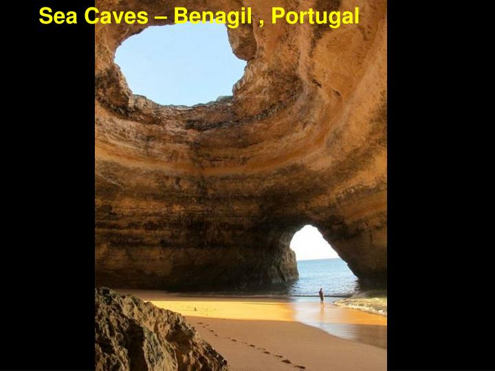 Sea Caves – Benagil , Portugal
