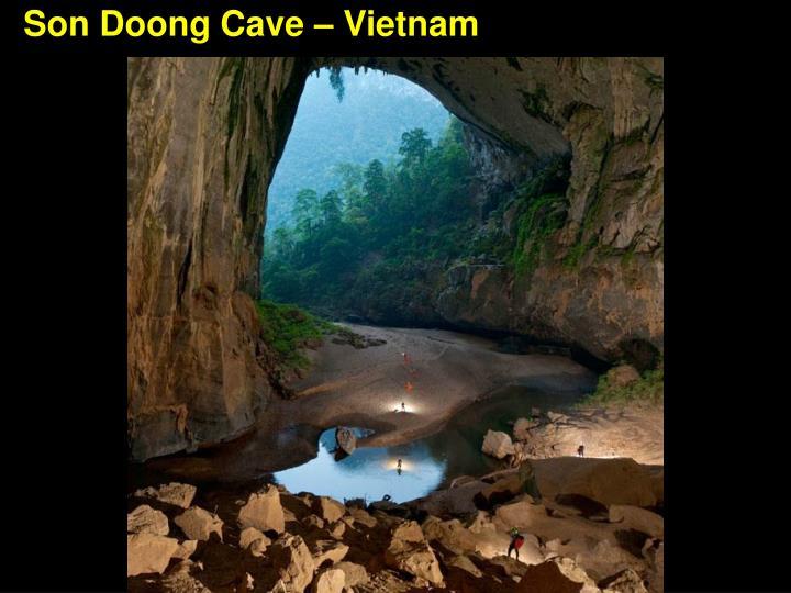 Son Doong Cave – Vietnam
