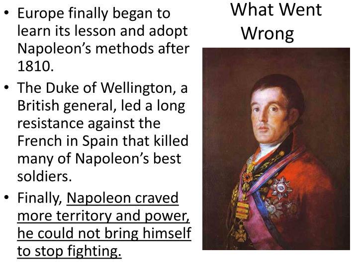 napoleon and wellington relationship goals
