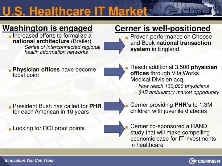 U.S. Healthcare IT Market