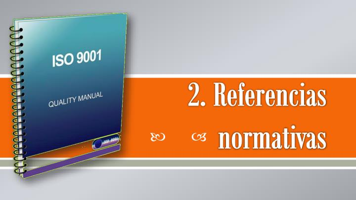 2. Referencias normativas