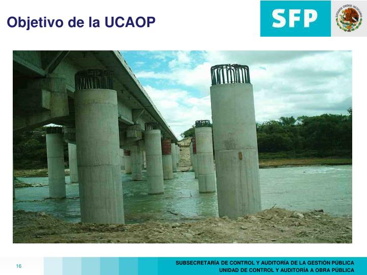 Objetivo de la UCAOP