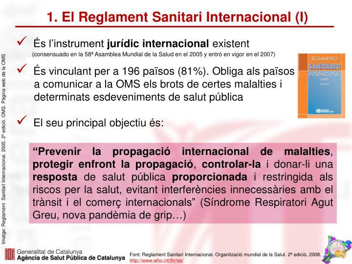 1. El Reglament Sanitari Internacional (I)
