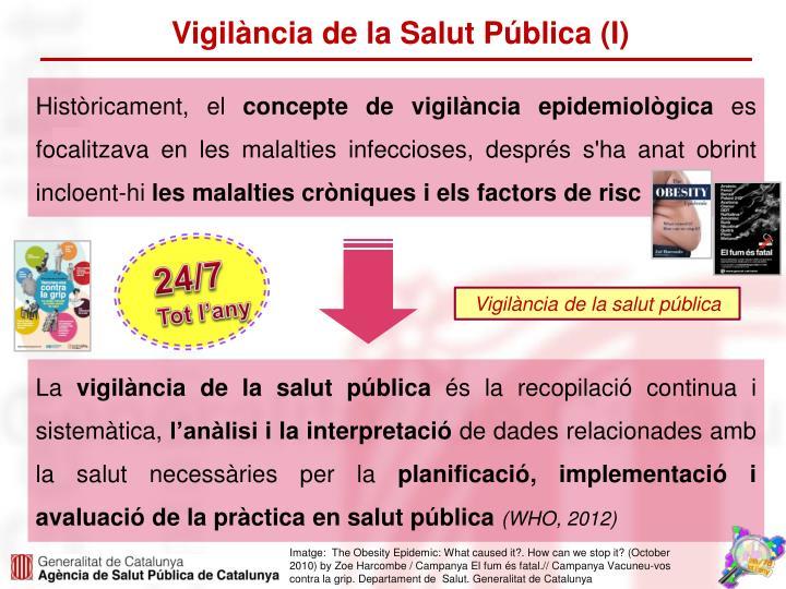 Vigilància de la Salut Pública (I)