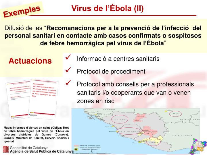 Virus de l'Ébola (II)