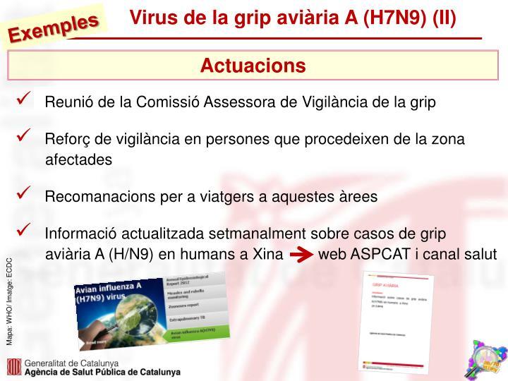 Virus de la grip aviària A (H7N9) (II)