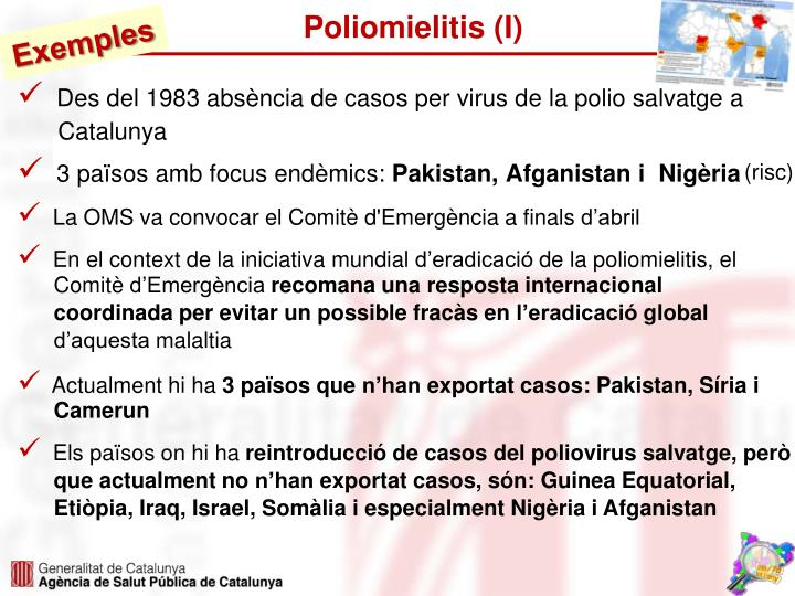 Poliomielitis (I)