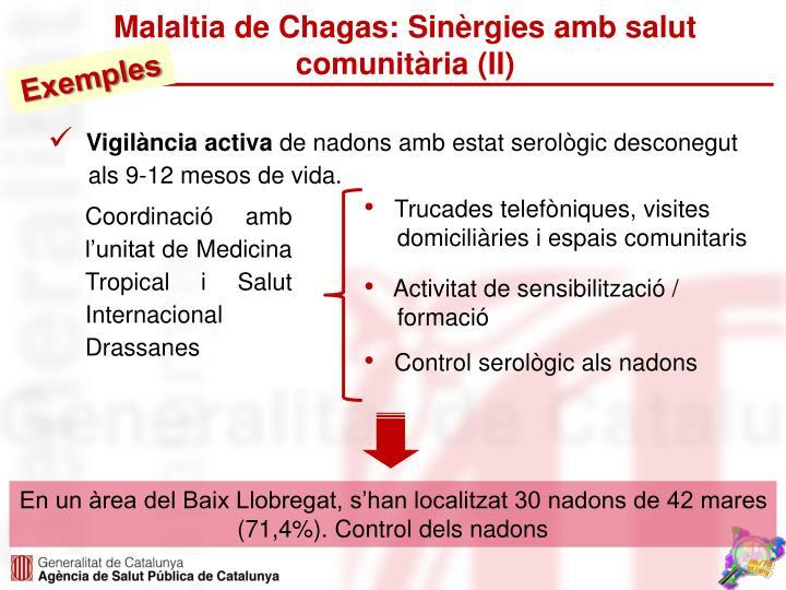 Malaltia de Chagas: Sinèrgies amb salut comunitària (II)