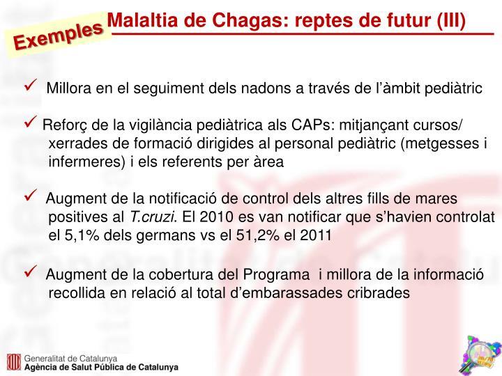 Malaltia de Chagas: reptes de futur (III)