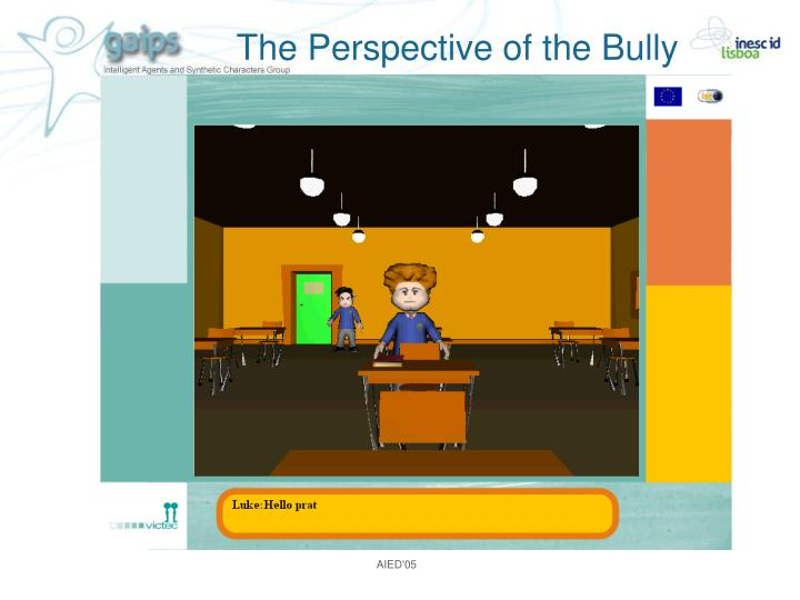 The Perspective of the Bully