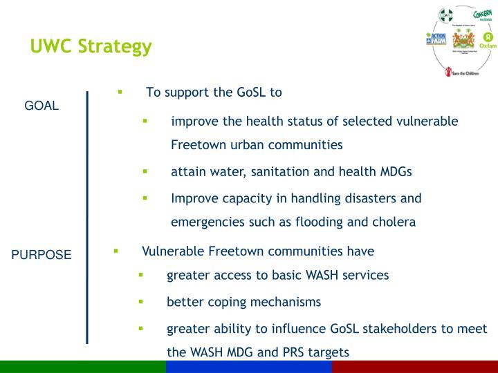 UWC Strategy
