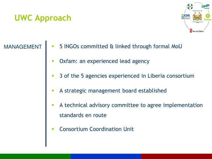UWC Approach