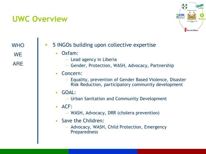 UWC Overview